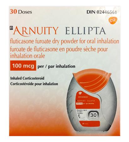 Arnuity-Ellipta