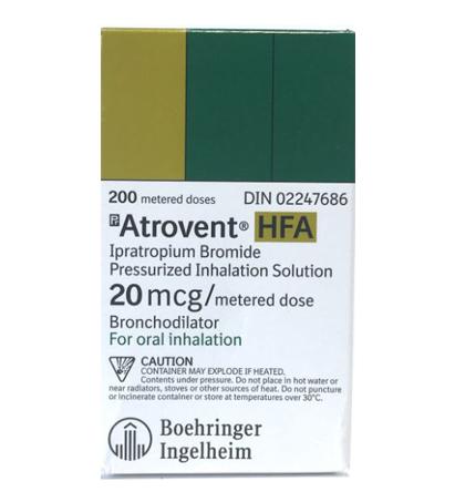 Buy Atrovent HFA Inhalers Online