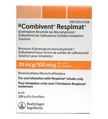 Combivent Respimat Inhalers